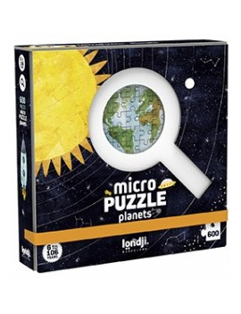 Micro puzzel discover the planets 6+ jaar - Londji