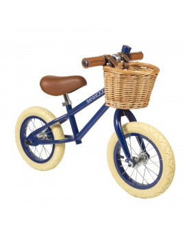 Loopfiets first go navy - Banwood