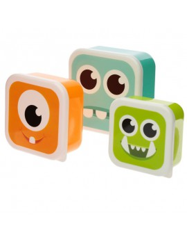 Brooddoos monsters set van 3 - Puckator