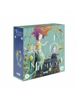 My mermaid zeemeermin glitter puzzel 6+ jaar - Londji