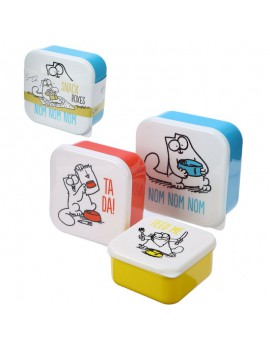 Brooddoos Simon's cat set van 3 - Puckator