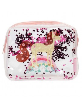 Glitter toilettas paard - A Little Lovely Company