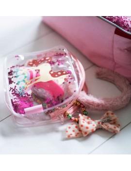Glitter toilettas paard - A Little Lovely Company