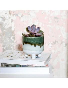 Mojave bloempot groen - Sass & Belle