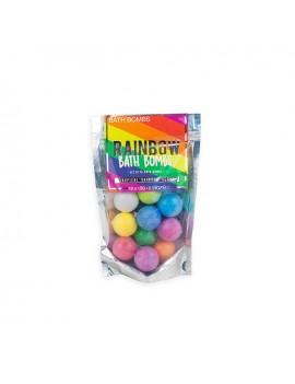 Regenboog bruisballen (set van 10)