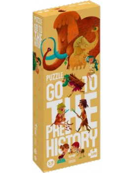 Go to the prehistory puzzel 5+ jaar - Londji