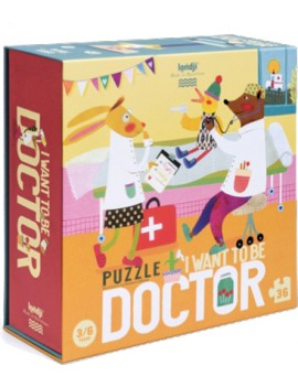 I want to be a doctor puzzel (3+) - Londji