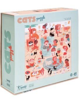 Cats katten puzzel (3+) - Londji