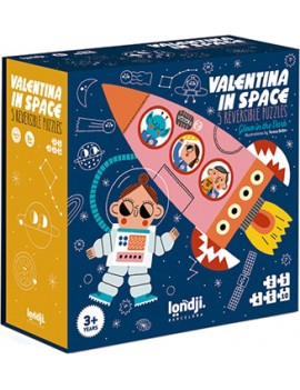 Valentina in space puzzel (3+) - Londji