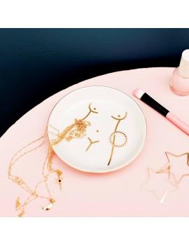 Girlpower juwelenschaaltje - Sass & Belle