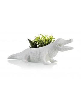 Krokodil bloempot large - Bitten Design