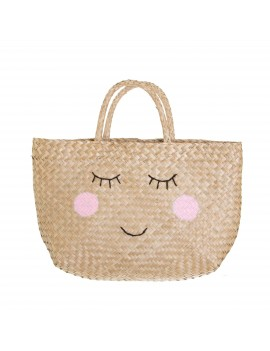 Strandtas shopper smiley - Sass & Belle