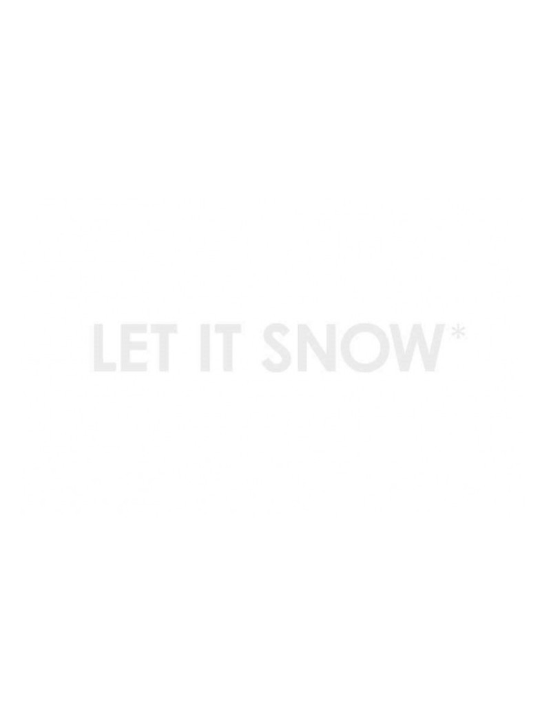 kaart 'Let it snow'