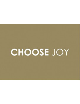 kaart 'Choose joy'