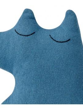 gebreide knuffelvos blauw - Bloomingville