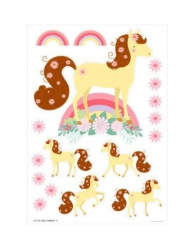 Kinderkamer muurstickers paard - A Little Lovely Company