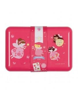 Roze brooddoos prinsessen - A Little Lovely Company