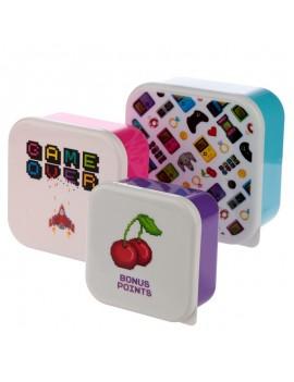Game over snackdoosjes set van 3 - Puckator