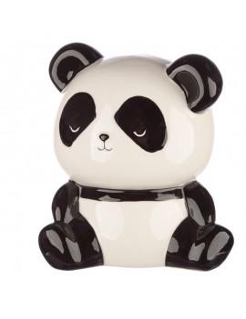 Zittende panda spaarpot - puckator