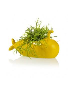 Yellow submarine bloempot - Bitten Design