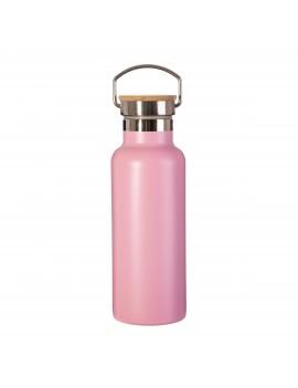 Waterfles roze metaal - Sass & Belle