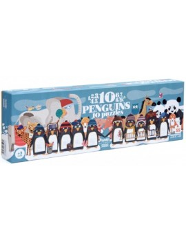 10 Pinguins puzzel (3+) - Londji