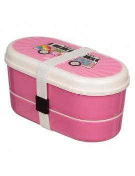 Bento box brooddoos volkswagen roze - Puckator
