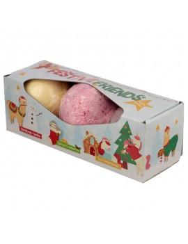 Grote bruisballen kerst gingerbread - Puckator
