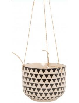 Hangende bloempot driehoeken - Sass & Belle