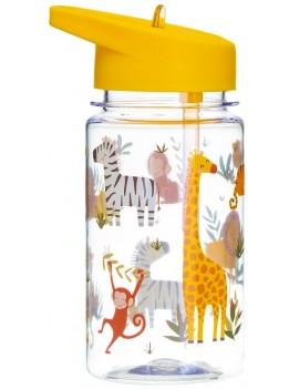 Drinkfles safari met rietje - Sass & Belle