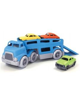 Auto transporter blauw - Green Toys