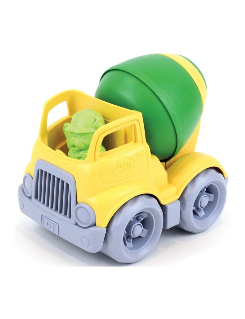 Speelgoed betonmixer geel - Green Toys