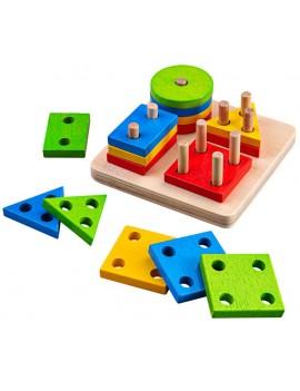 Baby vormenpuzzel - Green Toys