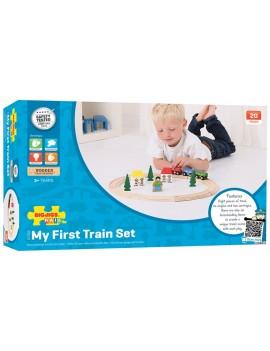 Speelgoed treinset - Green Toys