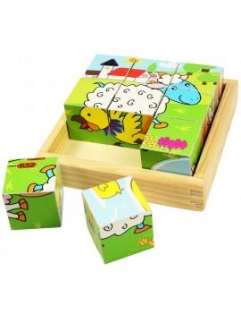 Blokpuzzel dieren - BigJigs