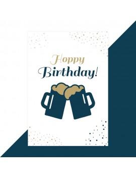 Hoppy Birthday wenskaart