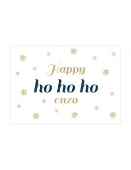 Happy ho ho ho kerstkaart - Lacarta