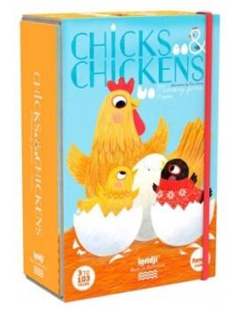 Chicks and chickens memory (3+) - Londji