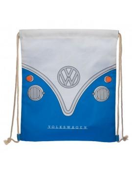 Trekkoord rugzak Volkswagen blauw - Puckator