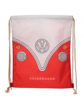 Trekkoord rugzak Volkswagen rood - Puckator