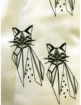 dekbedovertrek kinderbed 'Cats' - Knast by Krutter