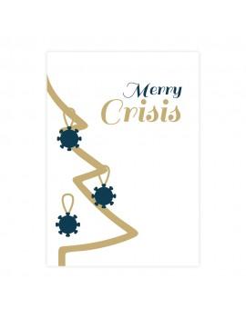 Merry crisis corona kerstkaart - Lacarta