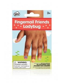 Kinder nagelstickers lieveheersbeestjes