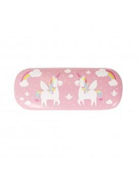 Eenhoorn brillendoos roze - Sass & Belle