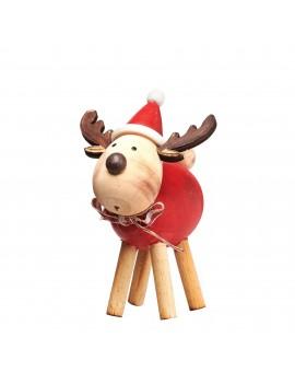 Rudolf kerstdecoratie hout - Sass & Belle