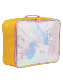 Koffer glitter eenhoorn - A Little Lovely Company