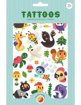 Tijdelijke tattoos we are family - Petit Monkey