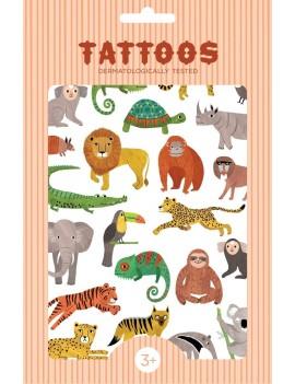Tijdelijke tattoos safari - Petit Monkey