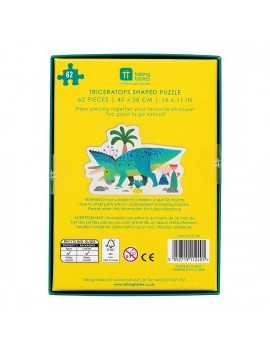 Dino puzzel triceratops - Talking Tables