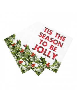 Kerstservetten jolly season - Talking Tables